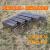 バーベキューストーブの大きいサイズの炭のバーベキュー箱携帯バーベキューグリル家庭用折りたたみの小型羊肉の串焼き屋外5人以上のフルセットのストーブセット5+5斤の炭