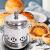 TaTaniceシングル銅鍋スティンレススチール鍋のアルコールストーブを真似して、一人で一つのアルコールを鍋に入れて、自分で鍋を煮ます。