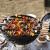 焼き世家スティンスチールの焼き針は高温に耐えます。厚木柄のステアリングスチールの焼き串は焼いた羊の串焼きです。