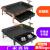 厚手の鋳鉄商用諸葛焼魚炉環境保護油焼魚皿長方形炭炭焼きアルコール炉Rサイズ抽出炭素鋼盤(黒)