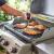weberアメリカ原装輸入ステーキ温度計屋外バーベキュー炉速度測定焼肉温度計バーベキュー道具