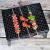 志動バーベキューグリル屋外バーベキューグリル家庭用木炭グリル3-5人野外フルセットのストーブ携帯折りたたみグリル5点セットをプレゼントします。