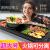 電気焼皿家庭用しゃぶしゃぶ鍋一鍋麦飯石禁煙大容量韓国式オシドリ電気オーブン鍋が分離できます。