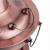 銅の鍋の純粋な紫の銅の厚い純銅の鍋の電気炭の両用炭の鍋は電気のしゃぶしゃぶなべの家庭用多機能の鍋を備えて電気の木の炭素の古い北京のしゃぶしゃぶの羊肉に挿し込んで厚い炭素の金の34 CMをプラスして6-8人に適します。