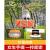 LARTISANスチール焼きグリル戸外焼きグリル家庭用炭火焼き炉屋外工具全セット炭火焼棚屋外家庭用グリル携帯コース一:オーブン+方眼焼き網+5点セット(炭送り+引火ブロック)